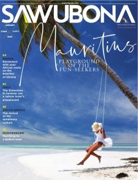 South African Airlines Onboard magazine - vegan travel