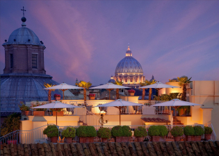 Vegetarian city trips - Hotel Raphael Rome